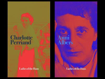 """Ladies of the Haus"" typography design colors branding identity motion design"