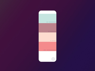 Color Reclaim tool android ios ui swatch palette colour color sketch freebie