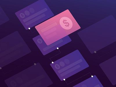 Financial recordkeeping graphic design website mobile icon blue identity illustrator minimal logo flat ux web ui clean vector branding art illustration design