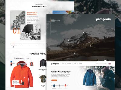 Patagonia | Climbing Concept