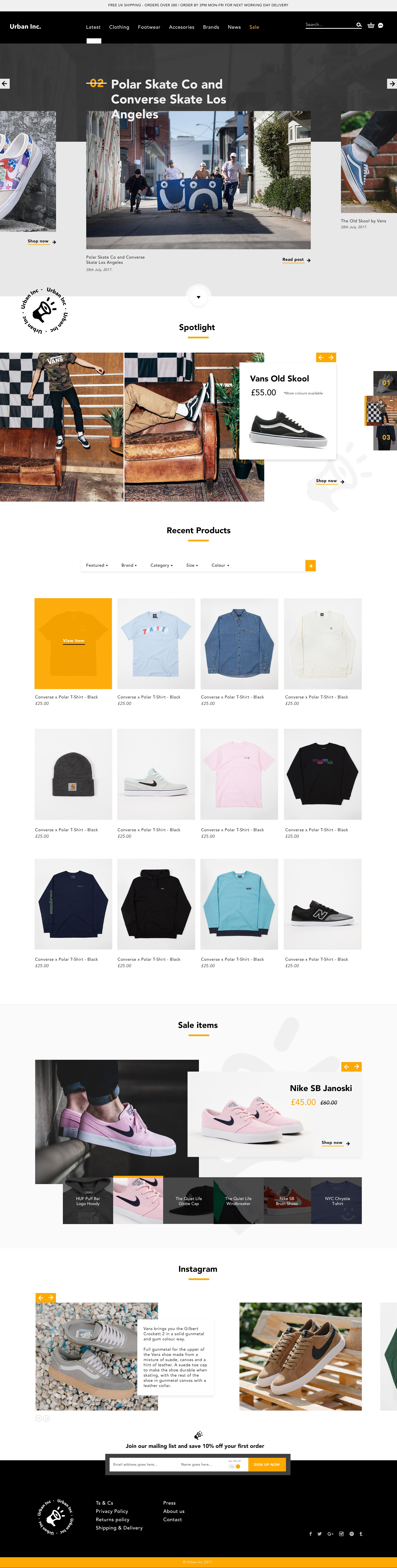Store website hf