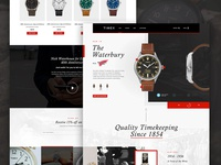 Timex Group USA | Homepage Concept