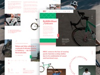 BBUC Cycling | Homepage Concept