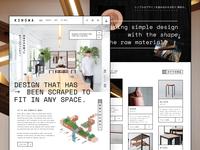 Kinowa | Homepage Concept