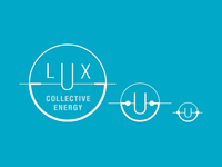 Lux logo mark concept