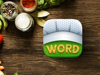 Word Snack App Icon