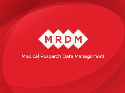 Mrdm Logo red logo square white mrdm corporate business card branding identity dubbeli