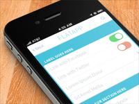 FlatApp Mobile Phone App - Bootstrap