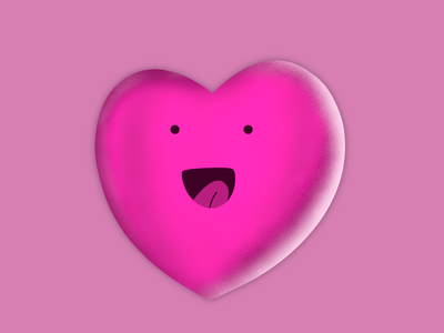 Love heart procreate love draw