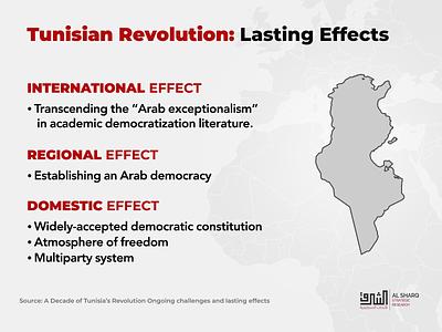 Tunisian Revolution infographic design social media typography arab spring infographic tunisia