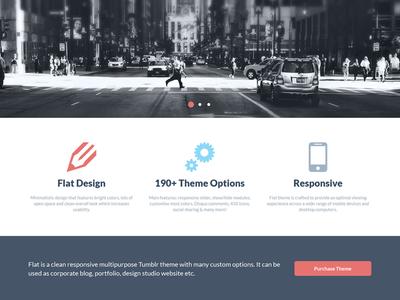 FLAT - Responsive Business Tumblr Theme blog business clean corporate css3 disqus flat html5 jquery minimal portfolio responsive social theme tumblr webdesign webdevelopment website