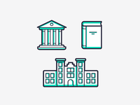 Rightmove Students icons