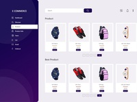 ecomerce dashboard design