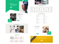 Portfolio Web template Design