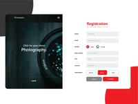 Web templete Subscription templete Design