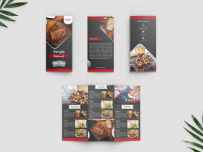 Food menu Bruchure Design