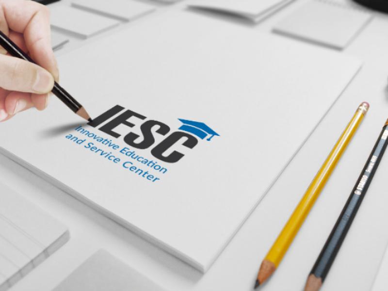 IESC LOGO simple logo corporate branding corporate design graphic design branding logo design