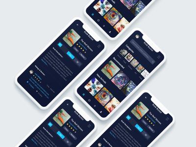 Book Bucket App Design