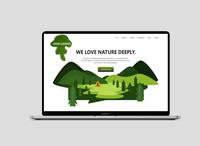 Garden Website design