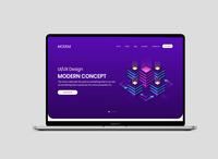 It Web site design concept