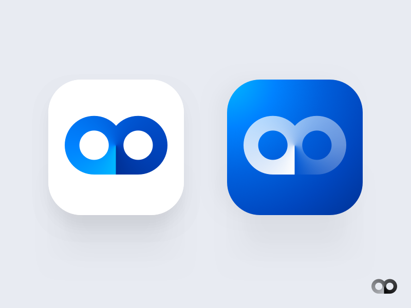 Owl App Icon owl logo icon design branding logo app