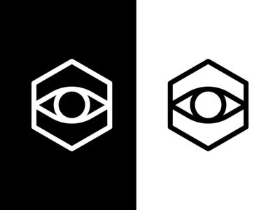 eye+hexagon