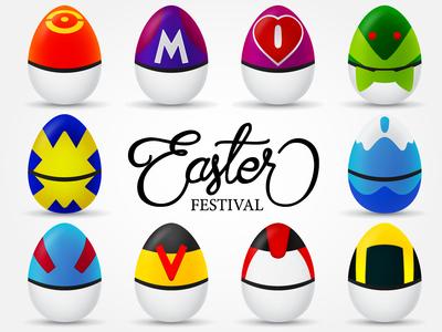 Easter Poke Egg