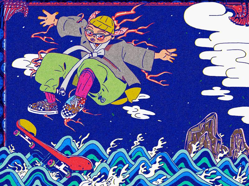 skateboarding graphics illust illustrator graphic design character design drawing character illustration doodle cartoon