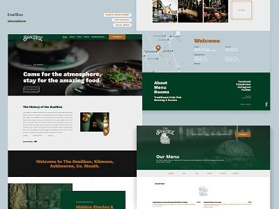 The Snailbox wordpress webdesign website traditional irish bar gastropub restaurant pub irish irish bar