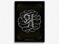 K Is The New Black (CMYK Poster Series)