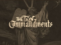 The Ten Commandments Sermon Series