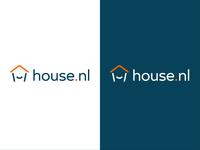 House.nl logo pairings brand identity house logo house house.nl simple type white icon branding minimal logo
