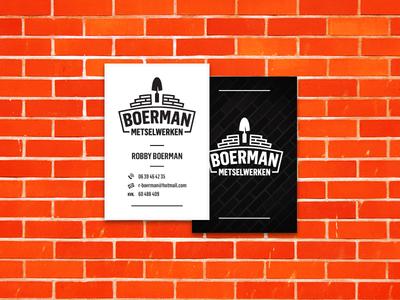 Boerman Metselwerken Contact Cards