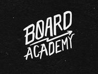 Board Academy Lettering