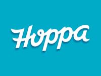 Hoppa Script Logo