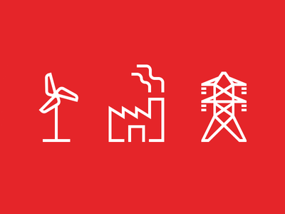 Energy Icons icons icon green energy energy voltage electricity transmission tower high voltage factory wind