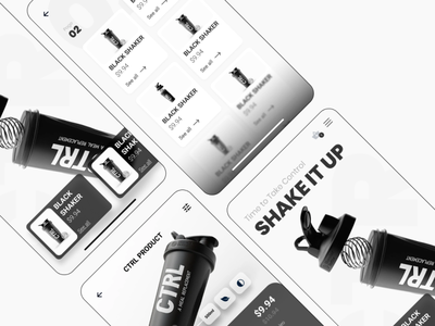 CTR UI Proof of Concept uidesign concept mobile app user experience dribbble userexperiance product ux ui design