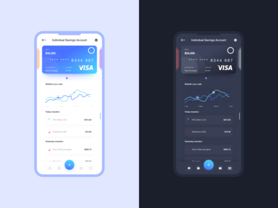 Bank mobile app
