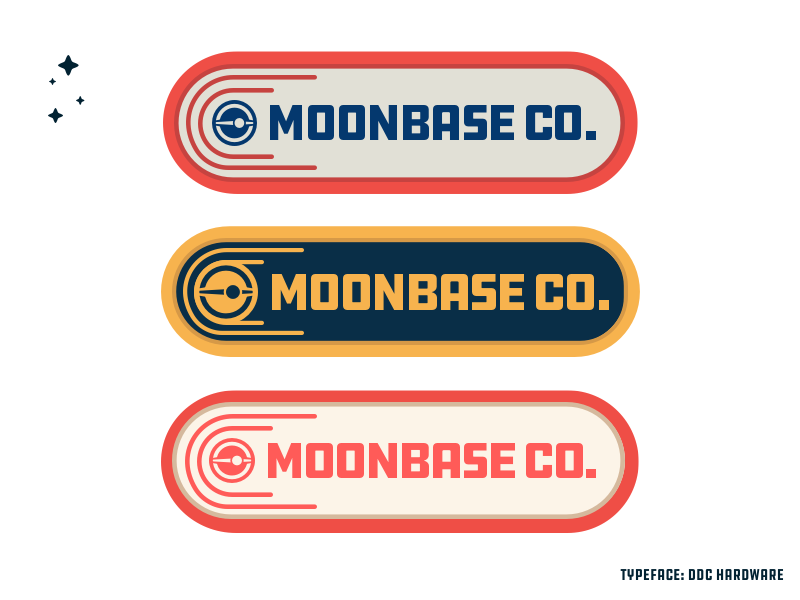 Mbc3 branding identity tag space moonbase moobase co logo far out explorations draplin ddc hardware ddc