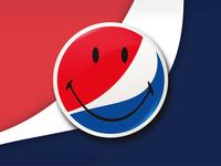 Pepsi x Smiley collaboration concept