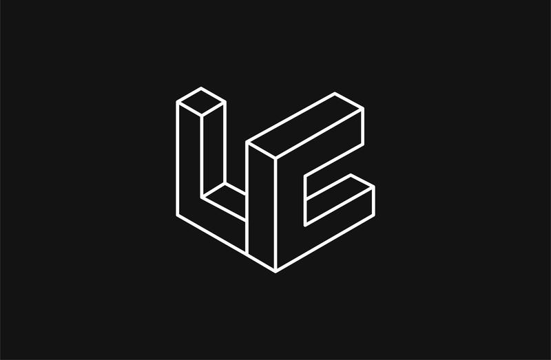 LC Icongraphy branding brand identity typography vector logotype design graphic  design makgrafix logo