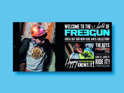 Freegun look book dps
