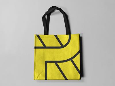 Photo Replica tote bag totebags graphic layout fashion typography design art direction branding logotype logo brand identity graphic  design makgrafix