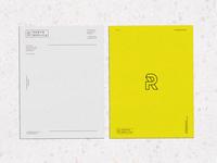 Photo Replica Letterhead typography logotype design art direction marketing collateral branding makgrafix logo brand identity graphic  design