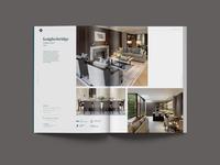 Brochure Spread brochure design knightfrank branding typography property editorial graphicdesign