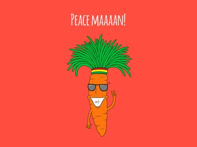 Peace maaaan!