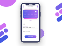 Transaction Screen