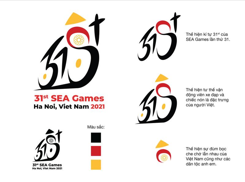 Logo SEA games 31 | Bui Nguyen Bao Anh 01