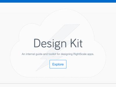 Design Kit Landing Page