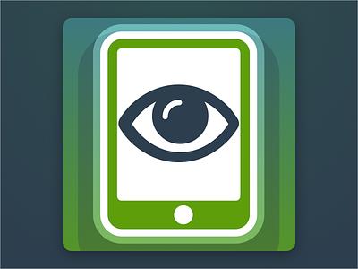 Reader App Icon illuminati gradients ios icon app